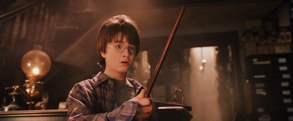 """Harry Potter's wand chooses him in """"Harry Potter and the Sorcerer's Stone"""""""