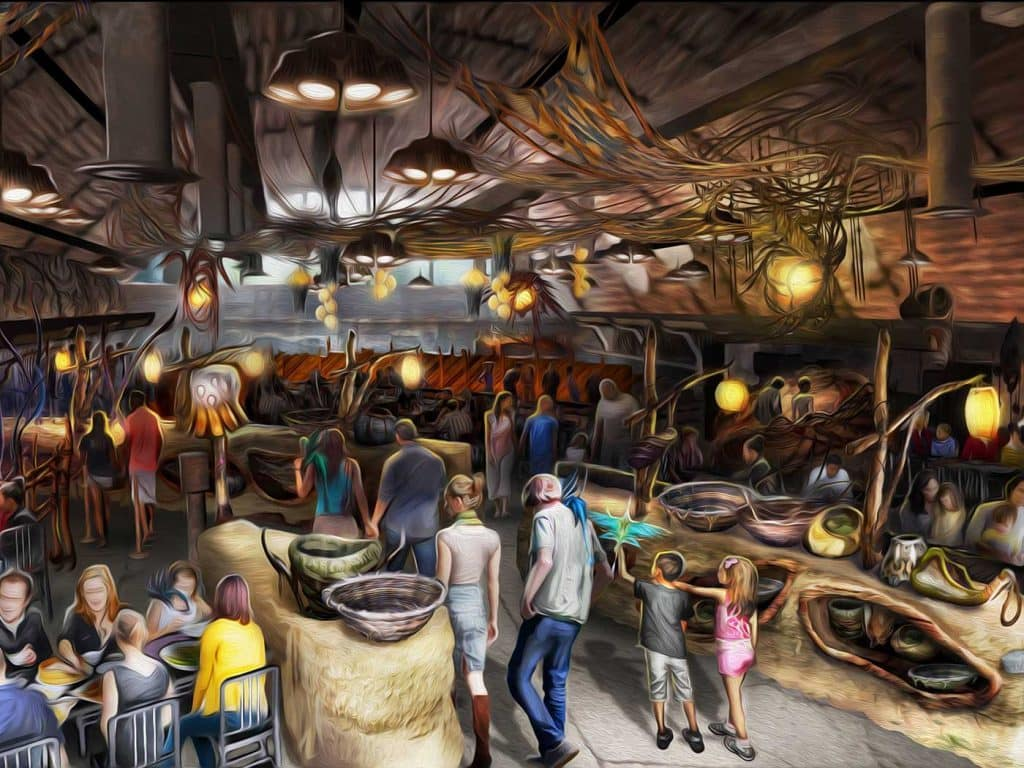 Satu'li Canteen in Disney's Pandora - The World of Avatar