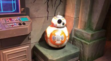 BB-8 meet and greet at Hong Kong Disneyland