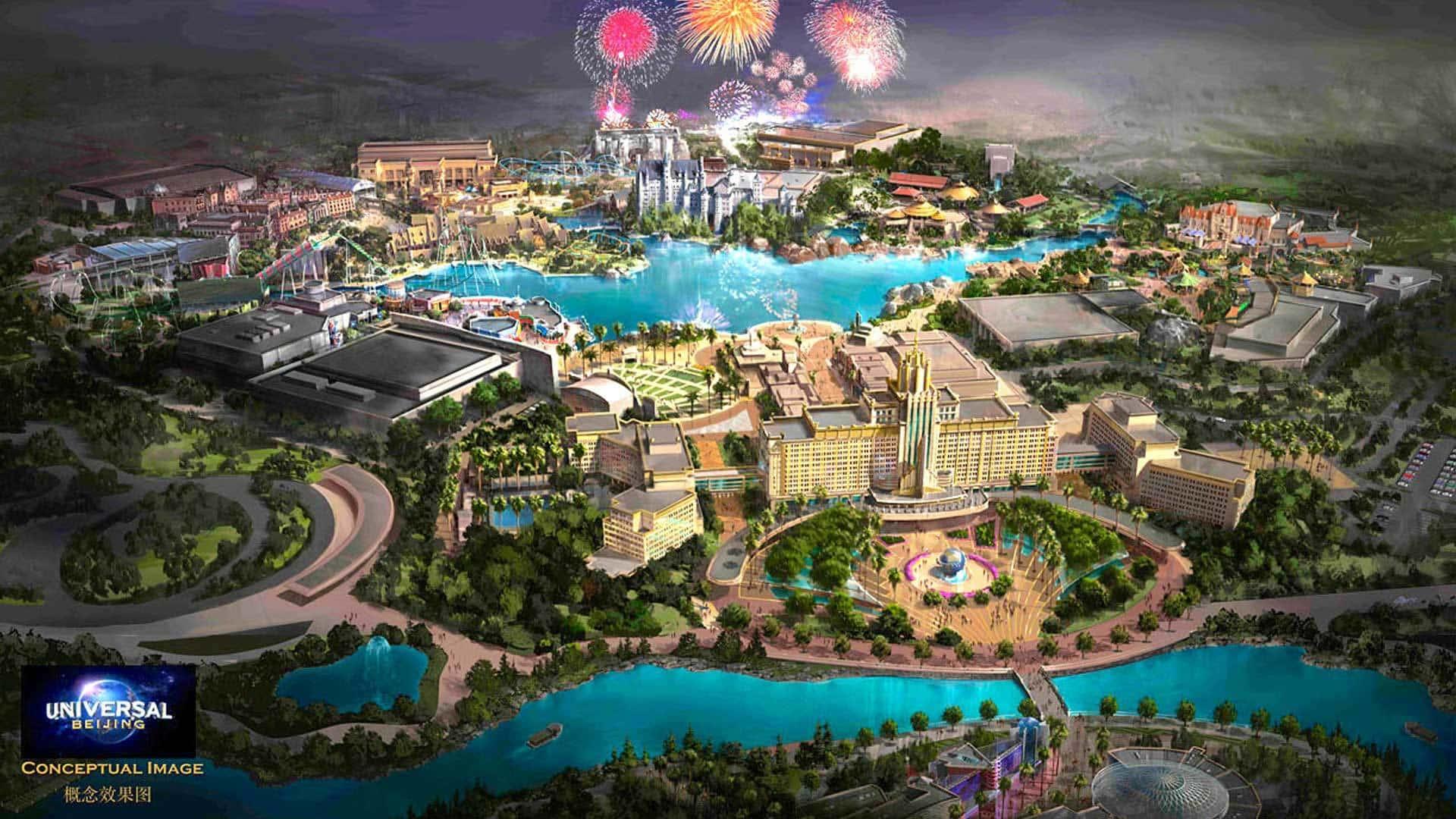 Universal expanding its global theme park empire?