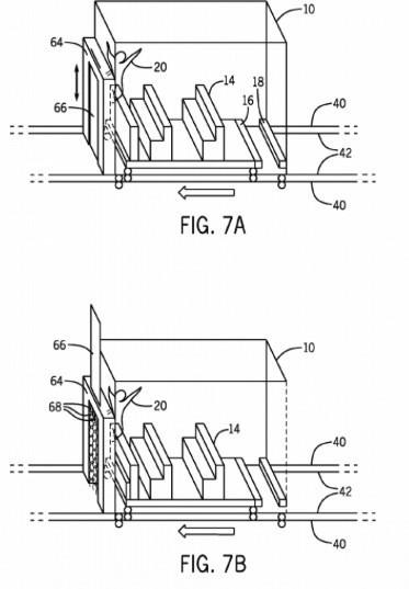 Universal's launch room patent