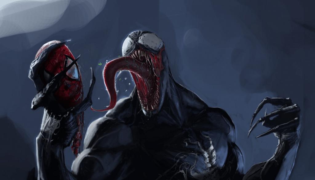 Venom from Marvel's Spider-Man comics