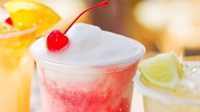 "A ""bioluminescent frozen cocktail"" available within Pongu Pongu Pandora - The World of AVATAR"
