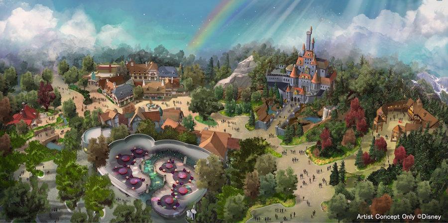 Belle Village - Tokyo Disneyland