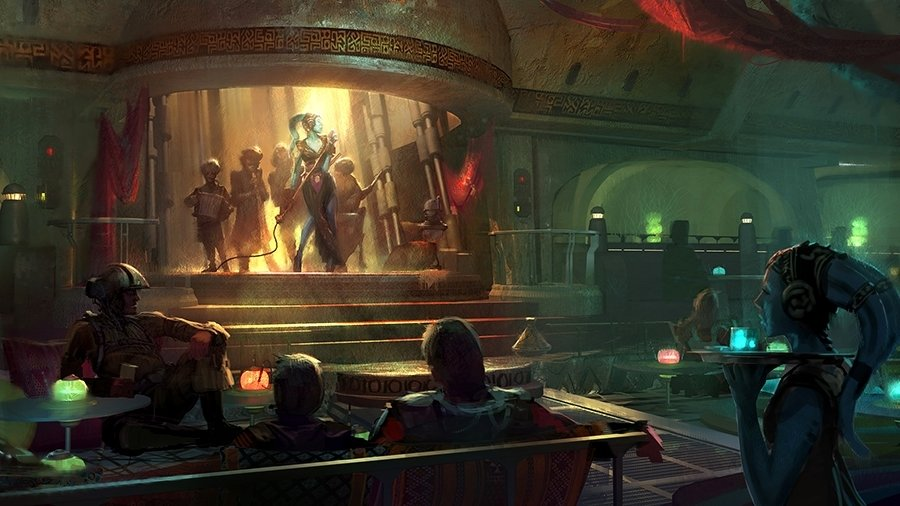 Cantina at Star Wars Land