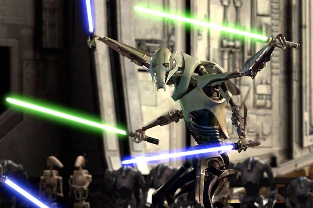 """General Grevious from """"Star Wars: Episode III - Revenge of the Sith"""""""