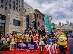 Race through New York Starring Jimmy Fallon grand opening at Universal Studios Florida