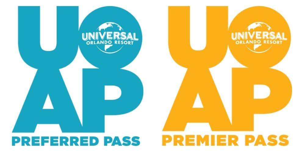Universal Orlando Preferred and Premier Passes
