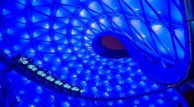 TRON Lightcycle Power Run at Shanghai Disneyland