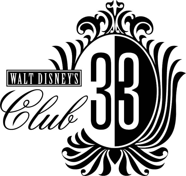 Club 33 logo prior to the 2014 remodeling