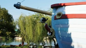 Me Ship, The Olive in Toon Lagoon at Universal's Islands of Adventure