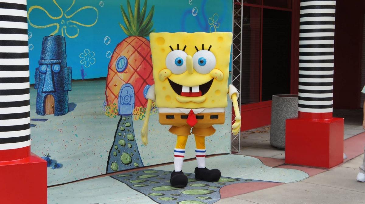 Image result for bob sponge universal studios