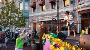 Mardi Gras French Court Yard at Universal Studios Florida