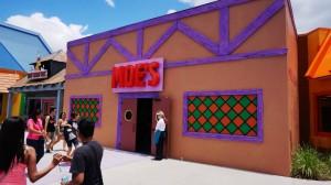 The Simpsons Fast Food Boulevard at Universal Studios Florida