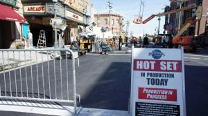 Hot set at Universal Studios Florida