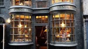 Ollivanders Wand Shop at The Wizarding World of Harry Potter Hogsmeade in Universal's Islands of Adventure