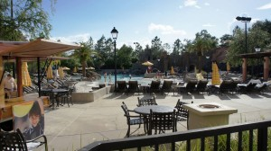 Beach pool in Loews Portofino Bay Hotel at Universal Orlando Resort