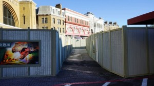 The Wizarding World of Harry Potter - Diagon Alley Construction March 13, 2014