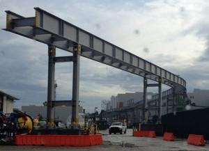 Hogwarts Express Construction May 1, 2013