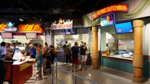 Fast Food Boulevard at Springfield USA in Universal Studios Florida