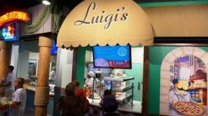 Fast Food Boulevard at Springfield USA in Universal Studios Florida