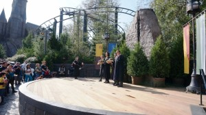 Frog Choir in The Wizarding World of Harry Potter at Universal's Islands of Adventure