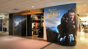 The Wizarding World of Harry Potter merchandise at Universal Orlando Resort
