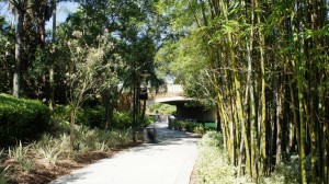 Walk from Universal Orlando CityWalk to Loews Royal Pacific Resort
