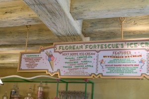 Florean Fortescues Ice Cream Parlor in The Wizarding World of Harry Potter Diagon Alley at Universal Studios Florida