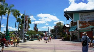 Walk from Loews Royal Pacific Resort to Universal CityWalk