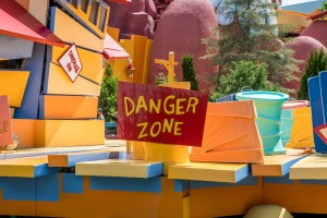 Dudley Do-right's Ripsaw Falls at Universal's Islands of Adventure