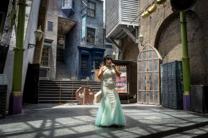 Celestina Warbeck and the Banshees in The Wizarding World of Harry Potter Diagon Alley at Universal Studios Florida