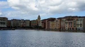 Walk from Hard Rock Hotel to Loews Portofino Bay Hotel