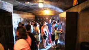 IOA lockers - Harry Potter and the Forbidden Journey.