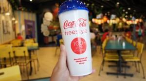 Coke Freestyle program at Universal Orlando.