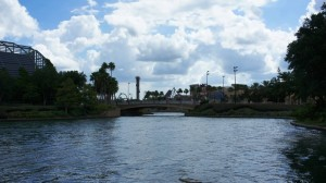 Walk from Universal Studios Florida to Hard Rock Hotel